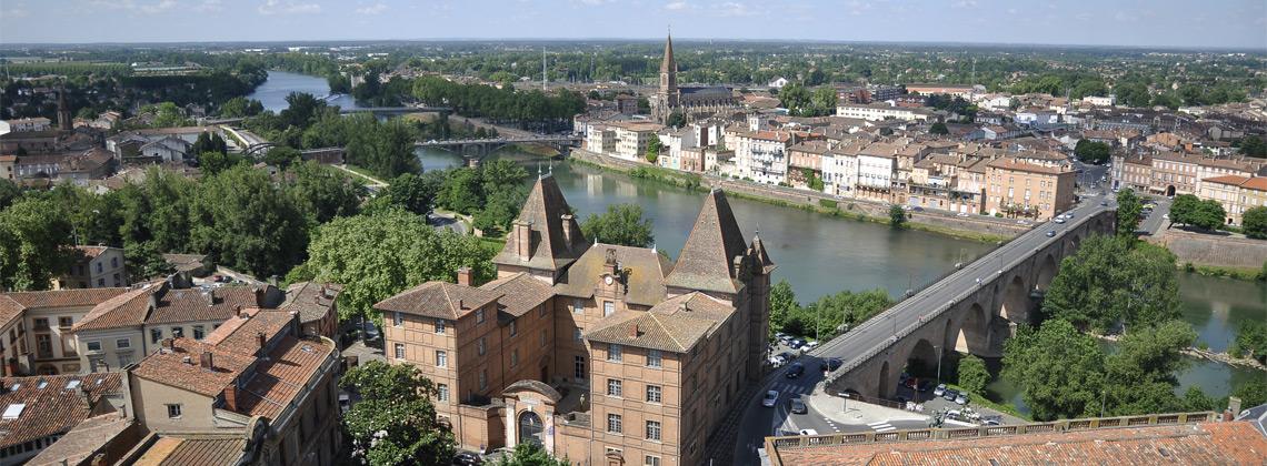 Montauban en Tarn et Garonne
